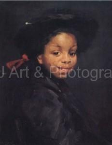 """Robert Henri: """"Eva Green"""", 1907:"""